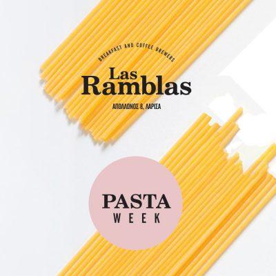 Pasta Week στη Las Ramblas