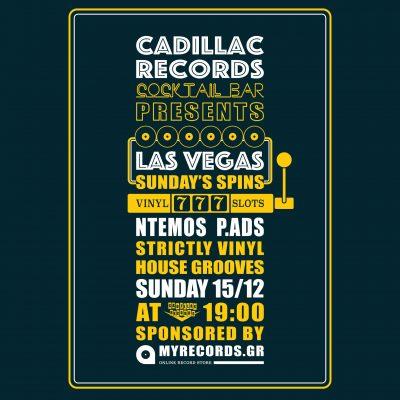 Las Vegas@Cadillac Records Cocktail Bar
