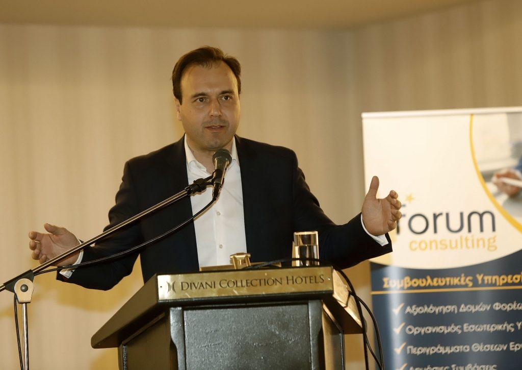 Ο Δημήτρης Παπαστεργίου μέλος του «Ελλάδα 2021»